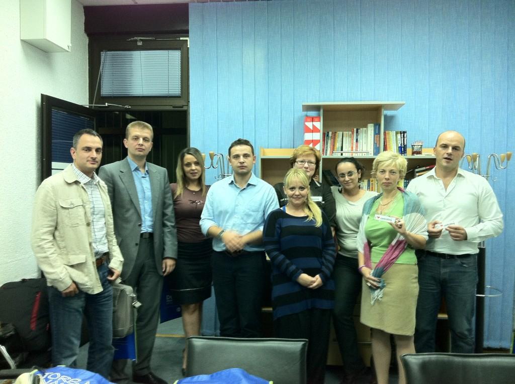 ICV Srbija, 30 sep 2011, 1. sastanak
