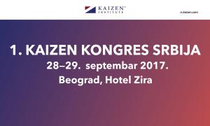 + 1 KAIZEN kongres Srbija (septembar 2017) - logo - kongresa